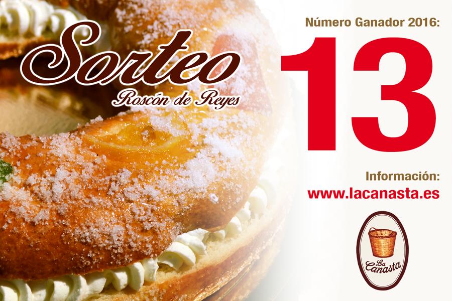 Sorteo Roscon de Reyes La Canasta